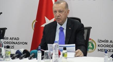 Cumhurbaşkanı Erdoğandan deprem bölgesinde önemli açıklamalar!