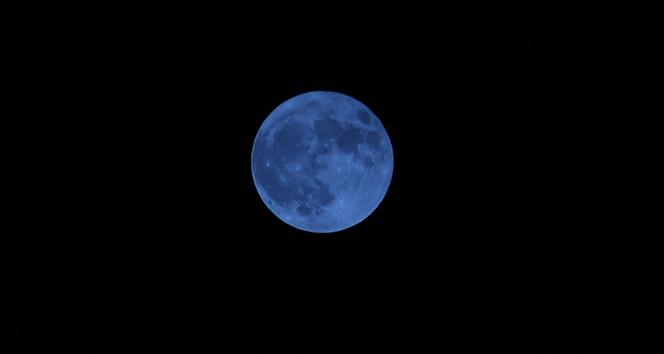 'Mavi Ay' İskenderun'da görsel şölen oluşturdu