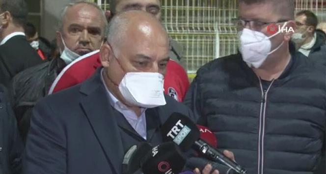 Gaziantep Başkanı Büyükekşi: 'Süper Lig'deki iyi bir takımız'