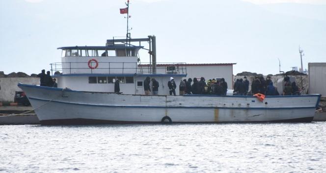 Kaçak göçmen taşıyan gemi kaptanı tutuklandı