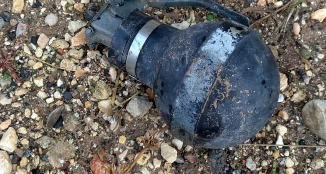 Adıyaman'da gaz bombası bulundu