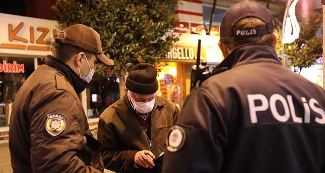 Sakarya'da sokağa çıkma kısıtlamasının ilk cezası kesildi