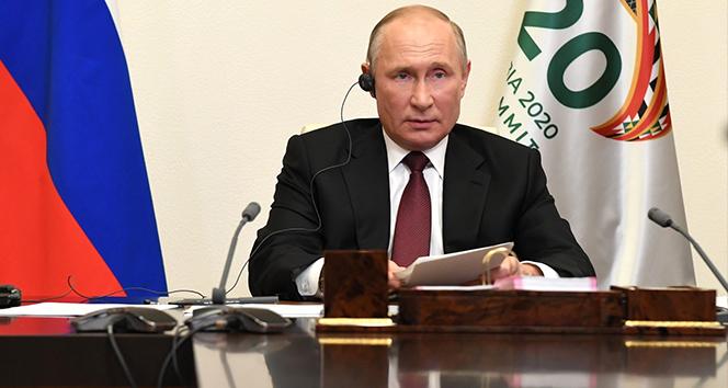 Putin'in G-20 zirvesindeki gündemi Covid-19 ve global ekonomik kriz oldu