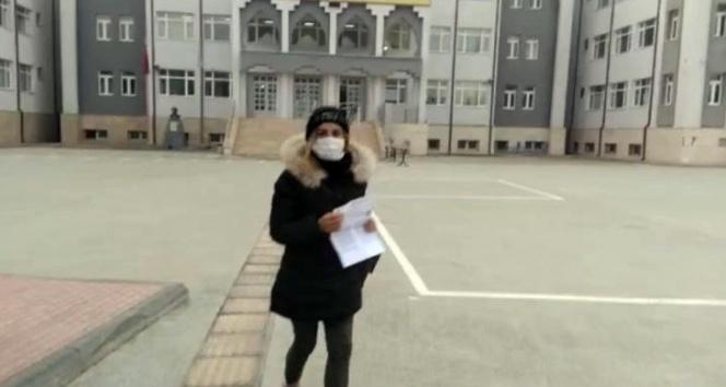 KPSS'ye geç kalan öğrenciyi sınav yerine polis ekibi yetiştirdi