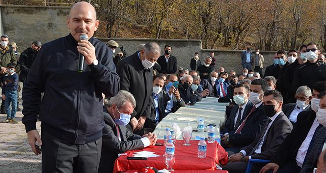 İçişleri Bakanı Soylu, Hakkari'de 80 yıllık husumete son verdi