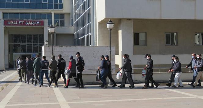 Osmaniye'de DEAŞ operasyonuna 9 tutuklama