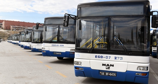 EGO otobüslerine Covid-19 düzenlemesi