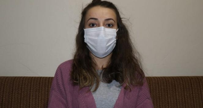 Korona virüsü atlatan 24 yaşındaki Tuğba: 'Herkes 3 kurala dikkat etsin'