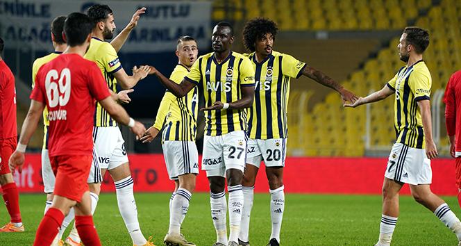 Fenerbahçe, Türkiye Kupası maçında Sivas Belediyespor'u farklı geçti