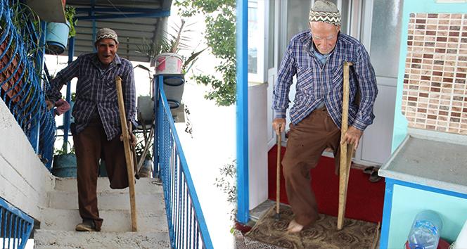 Devlete yük olmamak için protez bacak bile almadı