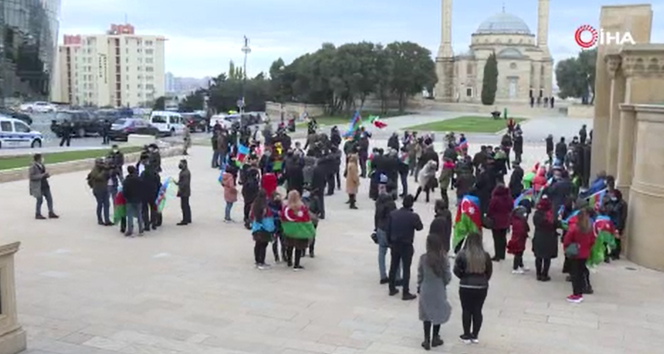 Azerbaycan halkı Kelbecer'in Ermeni işgalinden kurtarılmasını kutluyor
