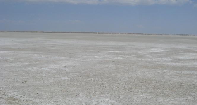 Seyfe Gölü kurudu