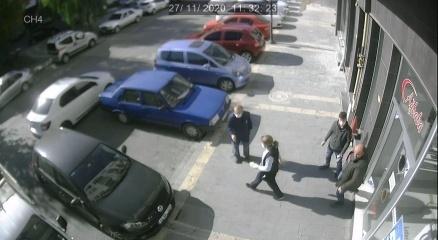 Deprem anı güvenlik kameralarına yansıdı