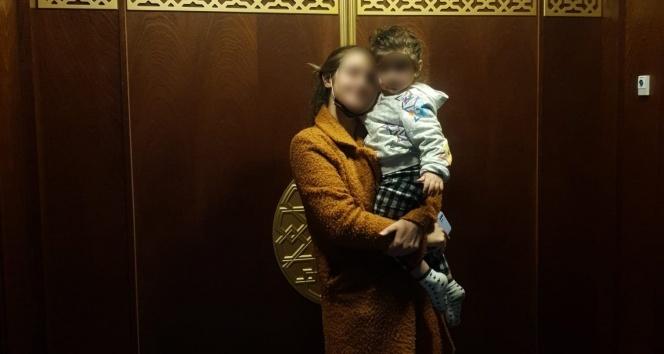 Başkent'te kızını kaçıran baba yakalandı