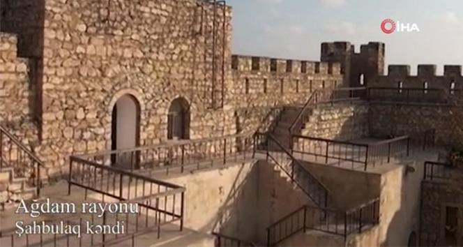Ermenistan'ın işgalinden kurtarılan Şahbulag köyü görüntülendi