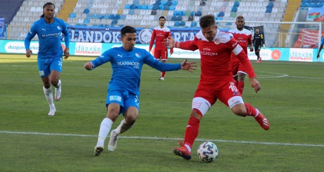 BB Erzurumspor: 2 - FT Antalyaspor: 2 | Maç sonucu