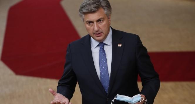 Hırvatistan Başbakanı Plenkovic kendisini karantinaya aldı