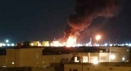 Irakta petrol rafinerisine roketli saldırı