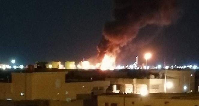 Irak'taki petrol rafinerisine yapılan saldırıyı DEAŞ üstlendi