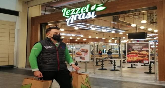"""Lezzet Arası'nda market fiyatına """"Paket Servis"""" hizmeti başladı"""