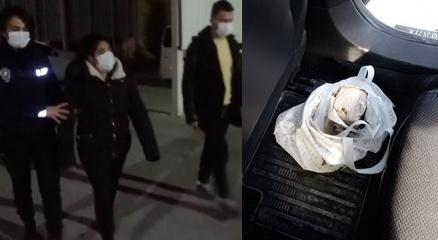 Kadir Şekerin kurtardığı kadın eroinle yakalandı