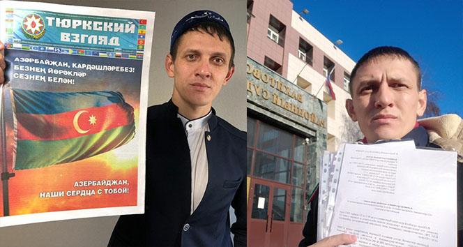 Rusya'da Azerbaycan'a destek veren Tatar gazeteciye soruşturma