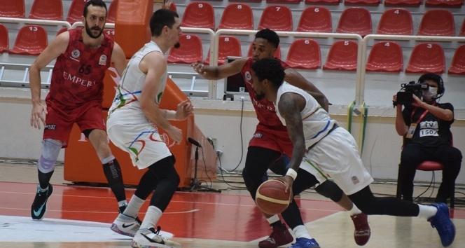Basketbol Süper Ligi: Aliağa Petkim: 67 - Gaziantep Basketbol: 66