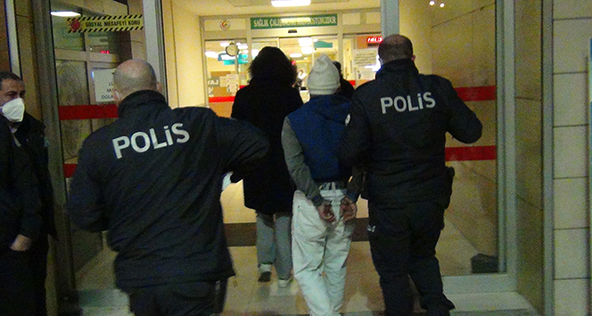 Kısıtlamaya uymayan kardeşler terör estirdi: 3 polis yaralı