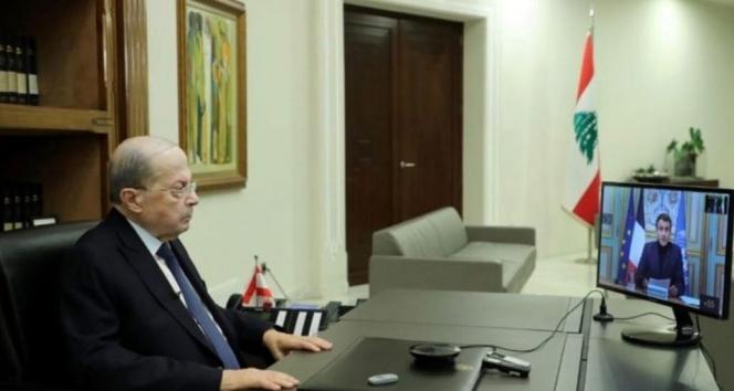 """Macron: """"Lübnan'a yapılan yardım çok ama yetersiz"""""""