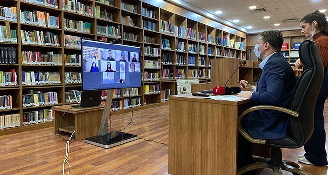 Başkan Bahadır, engelliler ile online görüştü