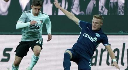 Beşiktaş 11 maç sonra Kasımpaşaya gol izni vermedi