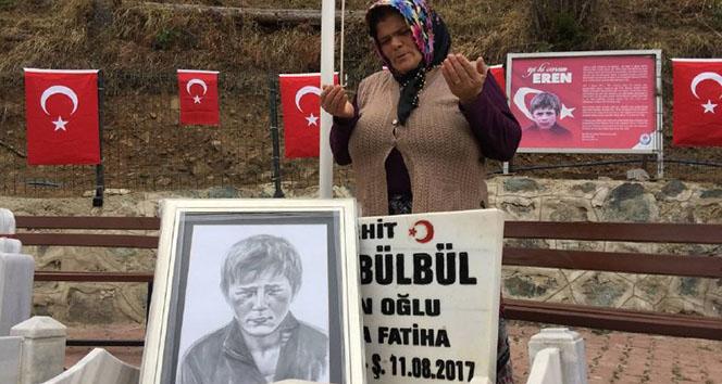 Eren Operasyonlarına katılan Mehmetçiklere Eren Bülbül'ün annesinden dua