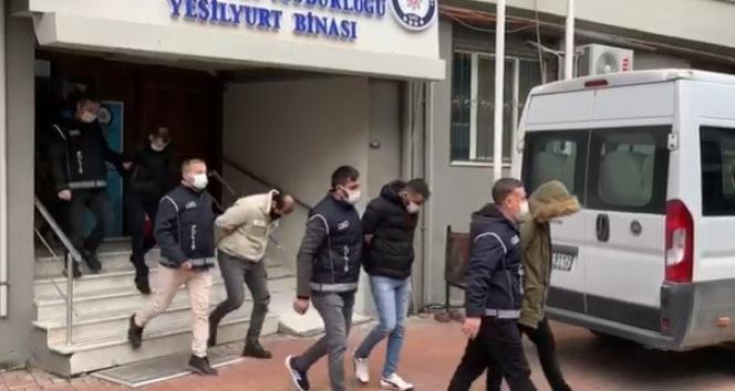 Yabancı uyruklu kadınları fuhuşa zorlayan 6 zanlı tutuklandı