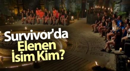 Survivor Kim ELENDİ, Kim GİTTİ? (19 Ocak 2021 Survivor'da Elenen İsim KİM?) |Survivor SMS sıralaması!