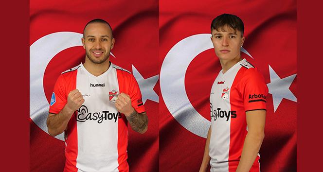 Kerim ile kardeşi Elias Frei, FC Emmen'e transfer oldu
