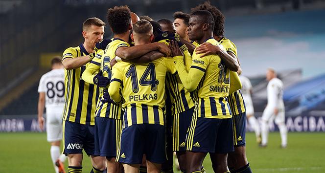 Süper Lig: Fenerbahçe: 3 - Ankaragücü: 1