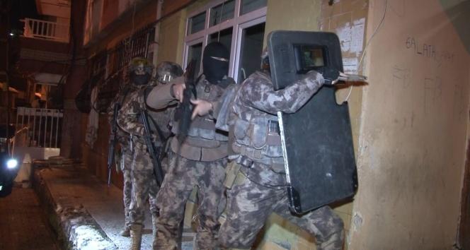 İstanbul merkezli 6 ilde helikopter ve drone destekli uyuşturucu operasyonu