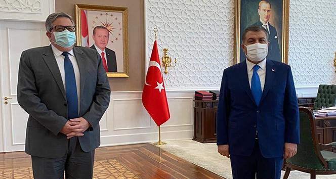 Rus Büyükelçi'den Sağlık Bakanı Koca'ya dikkat çekici ziyaret