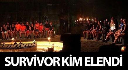 Survivor kim gitti? Survivor'da KİM ELENDİ? (SURVİVOR ELENEN İSİM SANCAKAY MI OLDU?)