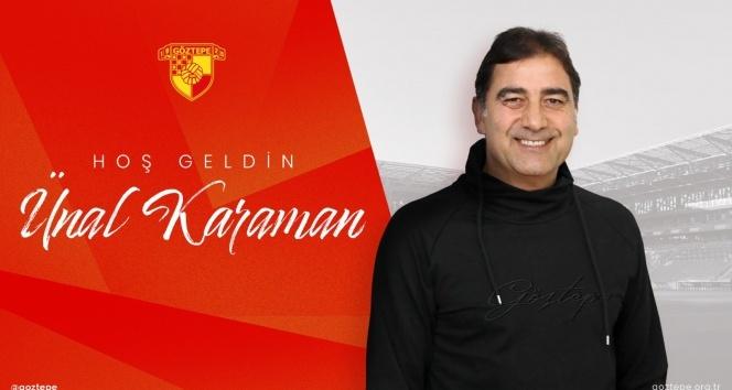 Göztepe, Teknik Direktör Ünal Karaman ile 2,5 yıllık sözleşme imzaladı