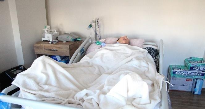 Cinsel saldırıya uğrayan genç kadın yaşadıklarının ardından intihar girişiminde bulunarak yatağa bağımlı hale geldi