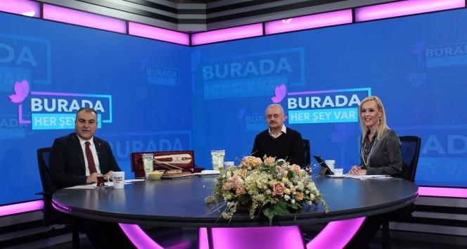 Görele Belediye Başkanı Tolga Erener TGRT EU yayınına katıldı