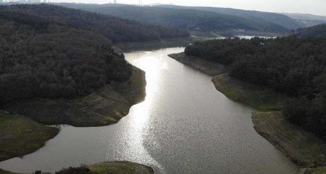 İstanbul'da karlar eriyince Elmalı barajında doluluk oranı yüzde 36'ya yükseldi