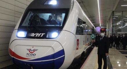 Ankara-Sivas Yüksek Hızlı Tren Hattı Projesinde performans testleri başladı