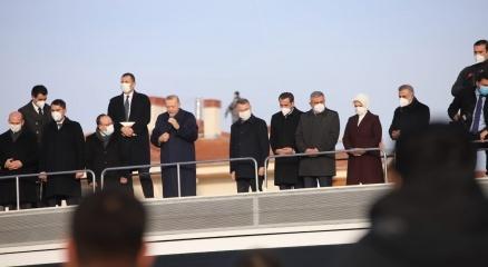 Cumhurbaşkanı Erdoğandan Elazığda deprem konutları teslim töreninde konuştu: 6 ay içinde bitecek