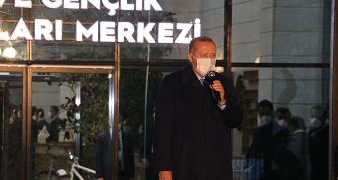 Cumhurbaşkanı Erdoğan: 'Bu etkinliklerle birlikte inanıyorum ki İpekyolu çok farklı ses getirecek'