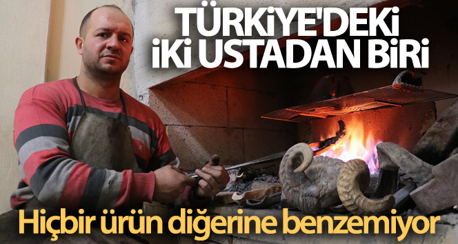 Türkiye'deki iki ustadan biri; hiçbir ürün diğerine benzemiyor