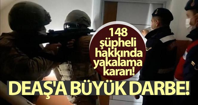 DEAŞ'a büyük darbe: 148 şüpheli hakkında yakalama kararı