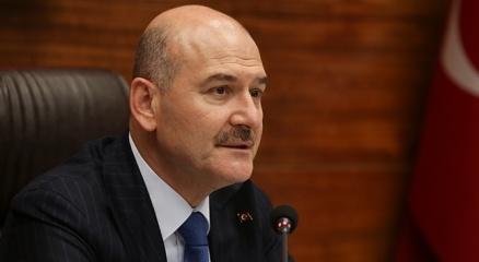 İçişleri Bakanı Soyludan Yıldırım Akbulutun ailesine taziye ziyareti