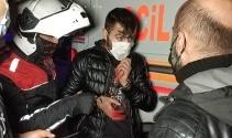 5 lira vermeyen güvenlik görevlisini bıçaklayarak hastanelik etti, yakalanınca 'benden şikayetçi olma' dedi